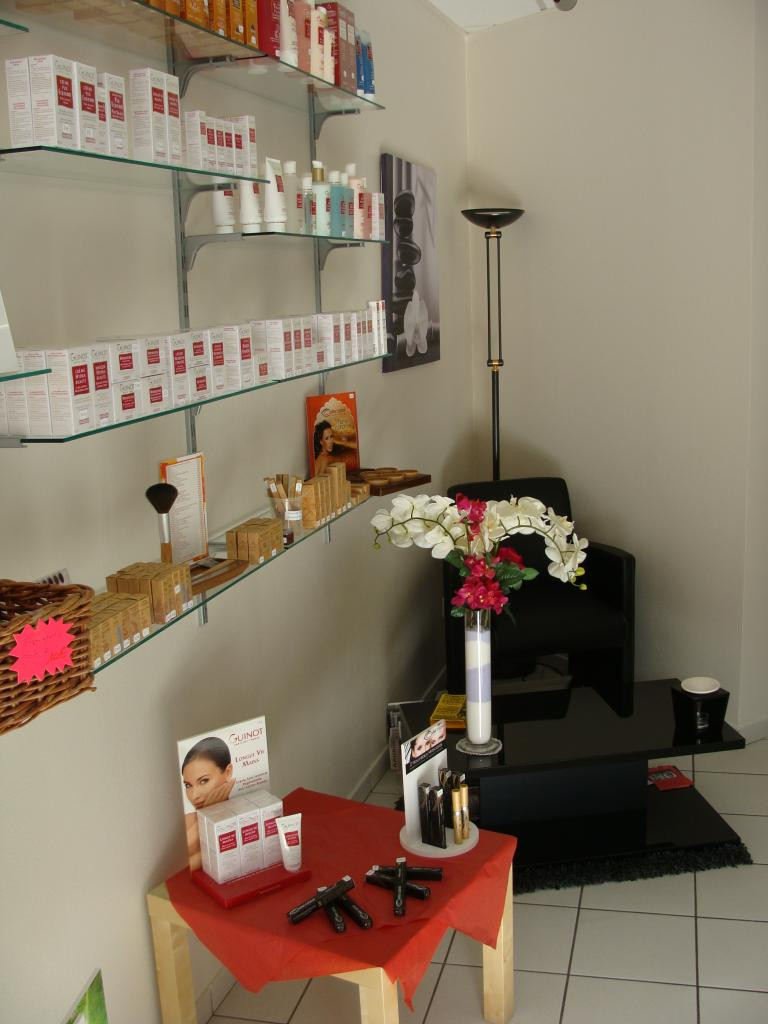 Vos produits beauté GUINOT et l'espace accueil...
