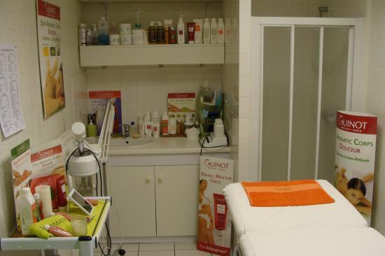 Votre cabine soins corps